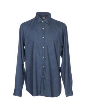 Pубашка GHERARDINI. Цвет: темно-синий