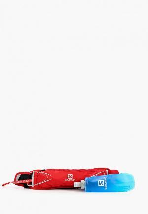 Комплект Salomon AGILE 250 SET BELT. Цвет: красный