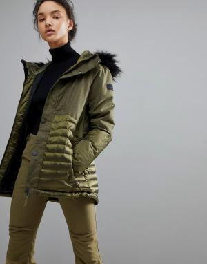 Куртка ONeill Finesse Hybrid-Зеленый O'Neill