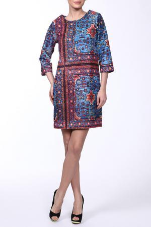 Платье Emma Cook. Цвет: мультицвет