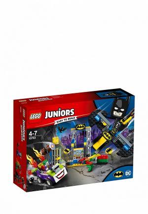 Конструктор Juniors LEGO Нападение Джокера на Бэтпещеру 10753. Цвет: разноцветный