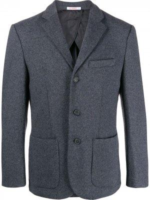 Фактурный пиджак Sun 68. Цвет: 4707 grigio scuro/navy blue