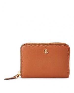 Бумажник LAUREN RALPH. Цвет: коричневый