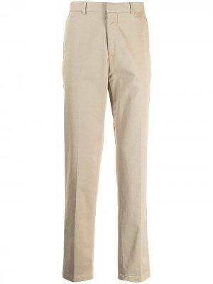 Прямые брюки чинос Polo Ralph Lauren. Цвет: коричневый