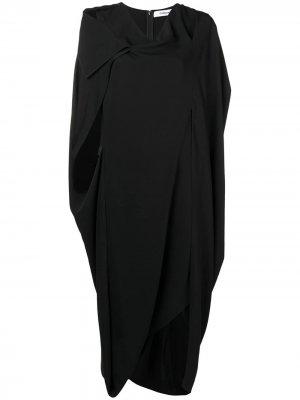 Платье с овальным вырезом Chalayan. Цвет: черный