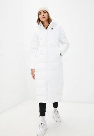 Куртка утепленная Fila. Цвет: белый