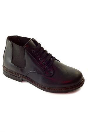 Ботиночки WOOPY. Цвет: черный