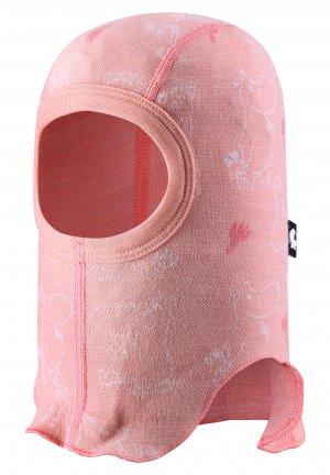 Шапка-шлем, базовый слой Moomin Rolig Розовая Reima. Цвет: розовый