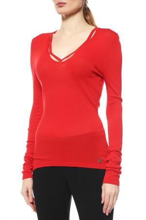 Пуловер Versace Collection. Цвет: красный