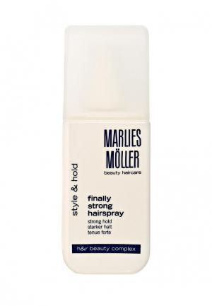 Лак для волос Marlies Moller StylIng сильной фиксации 125 мл. Цвет: белый