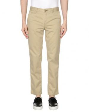 Повседневные брюки KURO. Цвет: бежевый