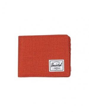 Бумажник HERSCHEL SUPPLY CO.. Цвет: ржаво-коричневый
