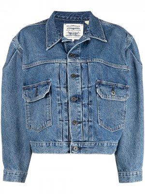 Levis: Made & Crafted джинсовая куртка Type II Levi's:. Цвет: синий