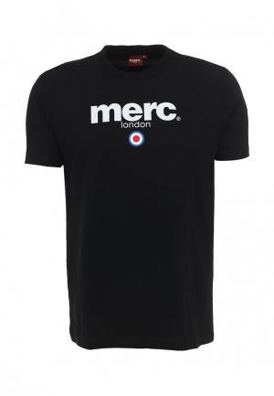 Футболка Merc BRIGHTON. Цвет: черный
