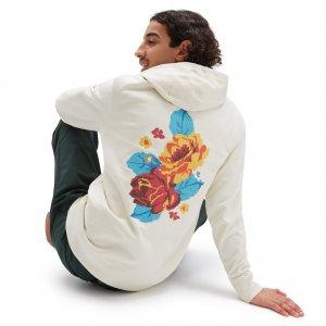 Пуловер Anaheim NeedlePulloverint Floral Pullover VANS. Цвет: белый