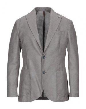 Пиджак LABORATORI ITALIANI. Цвет: голубиный серый