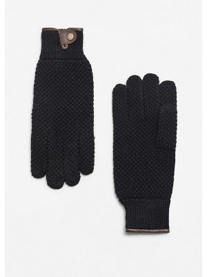 Перчатки p - PAUL MANGO MAN. Цвет: черный