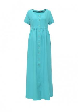 Платье Love & Light. Цвет: бирюзовый