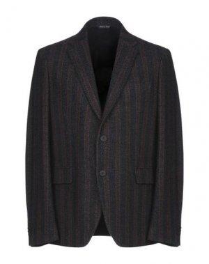 Пиджак BRIAN DALES. Цвет: темно-коричневый