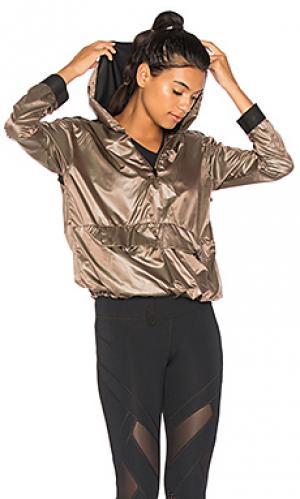 Куртка анорак ground KORAL. Цвет: коричневый