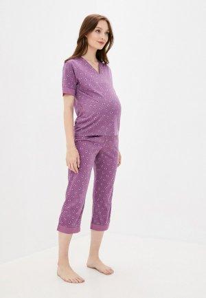 Пижама Mark Formelle. Цвет: фиолетовый