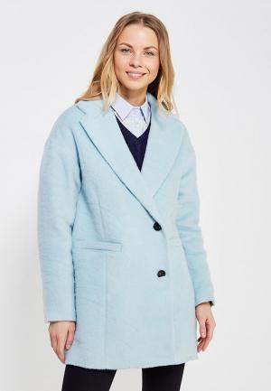Пальто Tommy Hilfiger Denim. Цвет: голубой