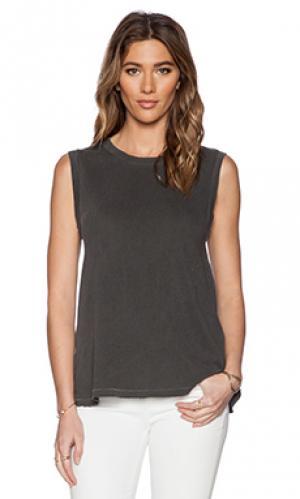 Майка без рукавов the sleeveless Great. Цвет: серый