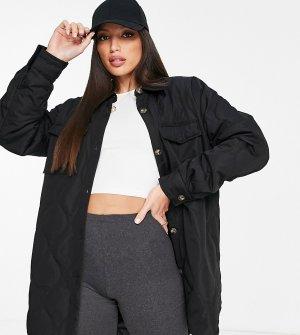 Черный стеганый шакет -Черный цвет Vero Moda Tall