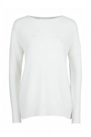 Белый пуловер Fabiana Filippi. Цвет: белый