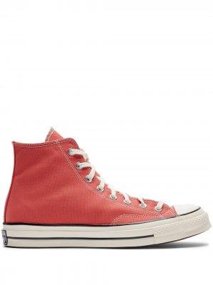 Высокие кеды Chuck 70 Converse. Цвет: красный