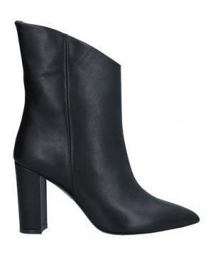 Полусапоги и высокие ботинки GIANNI MARRA. Цвет: черный