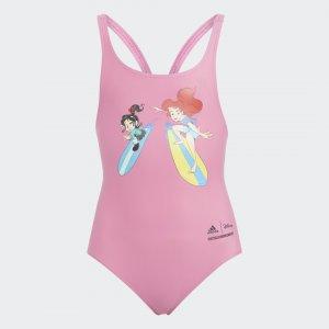 Слитный купальник Disney Princess Performance adidas. Цвет: none