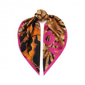 Шелковый платок Dsquared2. Цвет: чёрный