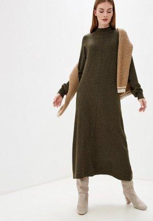 Платье b.young. Цвет: хаки