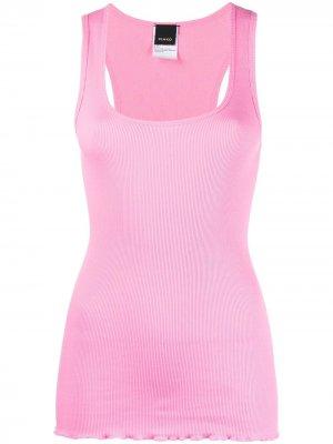Slim-fit tank top Pinko. Цвет: розовый