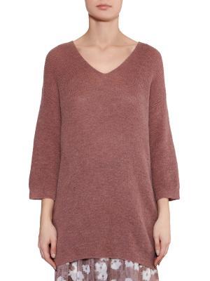 Пуловер Les Copains. Цвет: коричневый