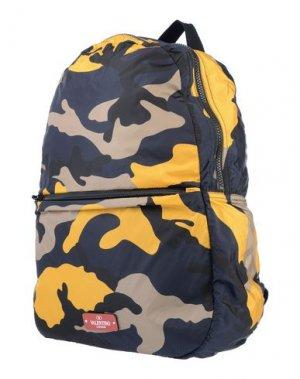 Рюкзак VALENTINO GARAVANI. Цвет: черный