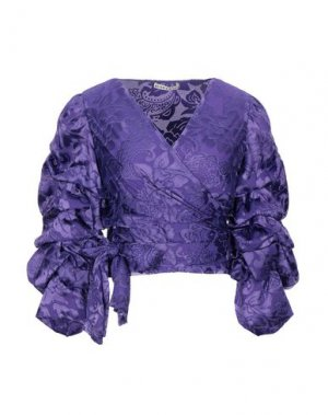 Pубашка ALICE + OLIVIA. Цвет: фиолетовый