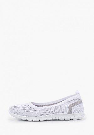 Туфли GLAMforever. Цвет: белый