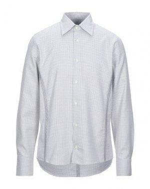 Pубашка BRUUNS BAZAAR. Цвет: белый