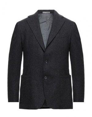 Пиджак 0909 FATTO IN ITALIA. Цвет: стальной серый