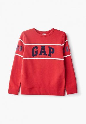 Свитшот Gap. Цвет: красный