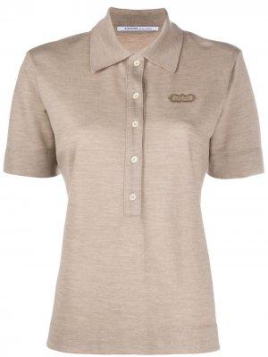 Кашемировая рубашка-поло Agnona. Цвет: нейтральные цвета
