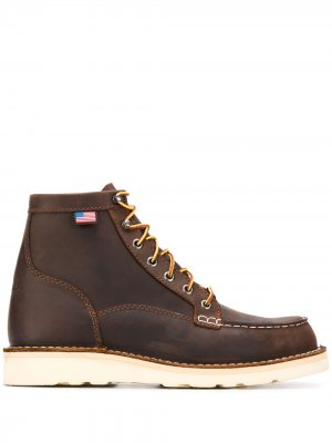 Ботинки Bull Run Moc Toe Danner. Цвет: коричневый