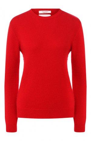 Кашемировый пуловер Valentino. Цвет: красный