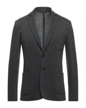Пиджак TRUSSARDI JEANS. Цвет: стальной серый