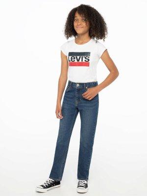 Jeans Levis. Цвет: синий