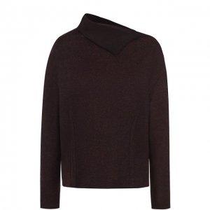 Кашемировый пуловер с отложным воротником Kiton. Цвет: красный