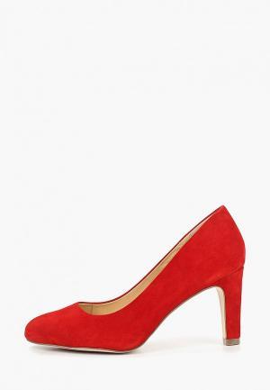 Туфли Caprice Premium. Цвет: красный