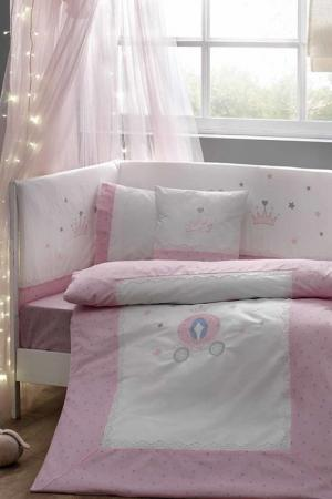 Baby cover set TAC. Цвет: pink, white